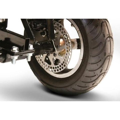 EWheels EW-20 Electric 3-Wheel Scooter Disc Braking View