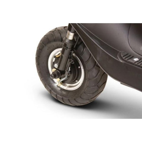 EWheels EW-20 Electric 3-Wheel Scooter Front Wheel View