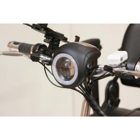 EWheels EW-20 Electric 3-Wheel Scooter LED Headlights View