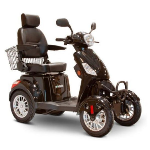 EWheels EW-46 Electric 4-Wheel Scooter Black Right View