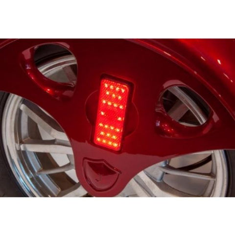 EWheels EW-46 Electric 4-Wheel Scooter Brake Lights View