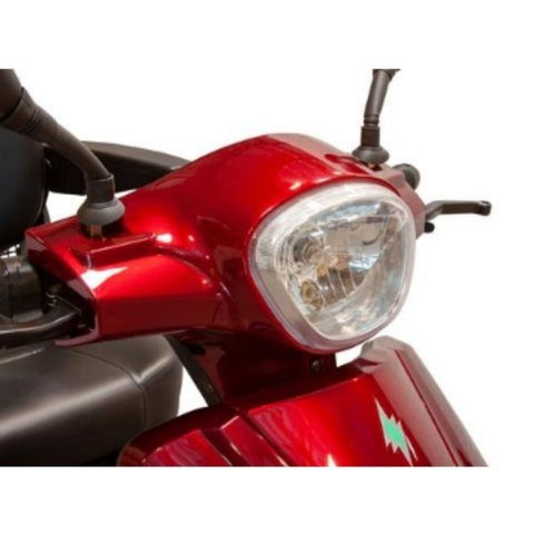 EWheels EW-46 Electric 4-Wheel Scooter LED Headlights View
