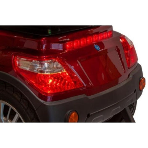EWheels EW-46 Electric 4-Wheel Scooter Rear LED Lights View