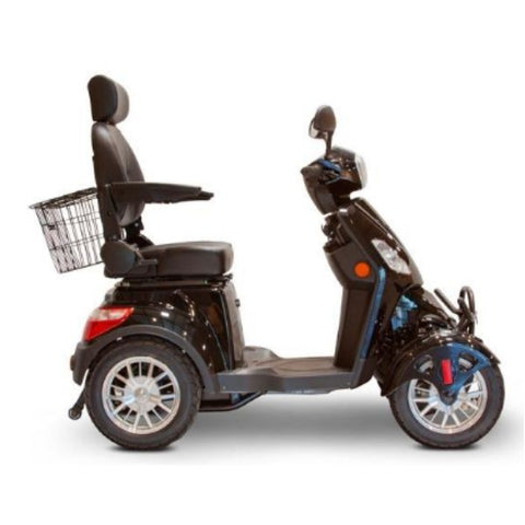 EWheels EW-46 Electric 4-Wheel Scooter Side View