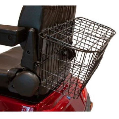 EWheels EW- 46 Electric 4 Wheel Scooter Storage Basket View