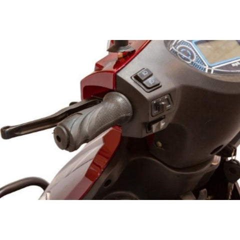 EWheels EW-46 Electric 4-Wheel Scooter Throttle View