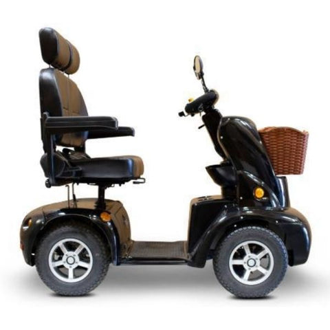 EWheels EW-88 Dual Seat Scooter Black Right View