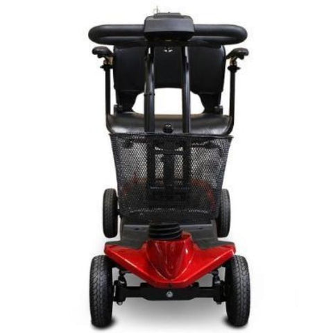 EWheels EW-M35 4-Wheel Mobility Scooter Red Front View