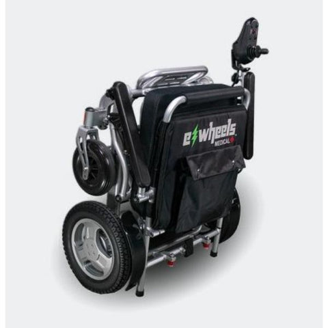 EWheels EW-M45 Folding Power Wheelchair Foldable View