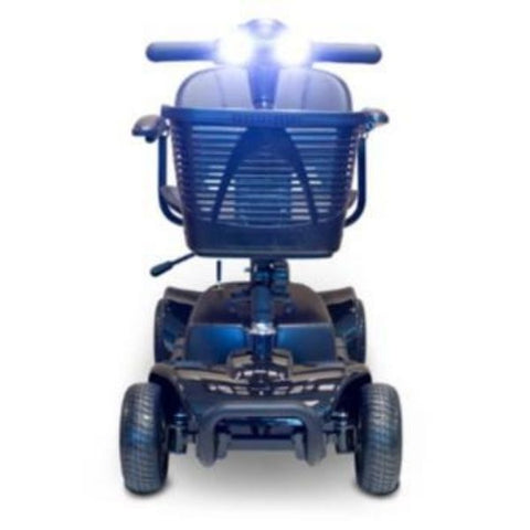 EWheels Medical EW-M34 Portable Mobility Scooter Black Headlights View