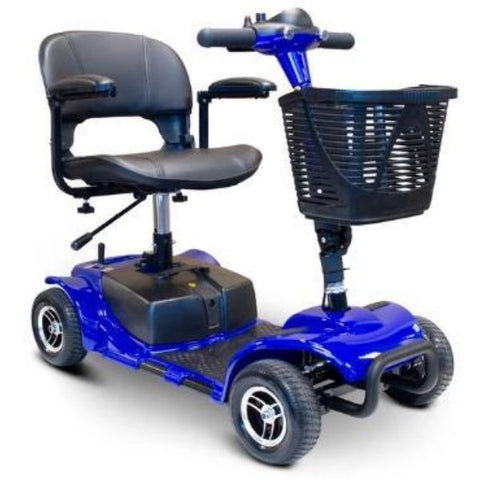 EWheels Medical EW-M34 Mobility Scooter Blue Right View