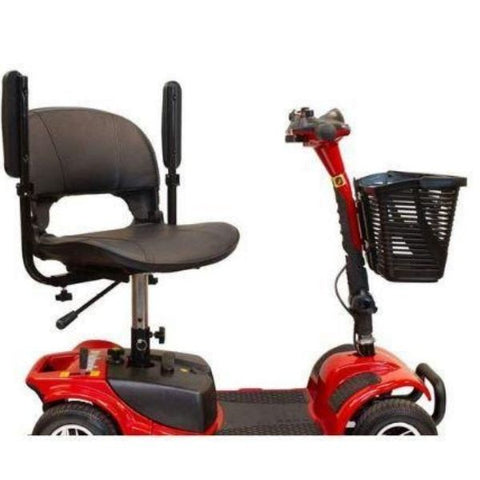 EWheels Medical EW-M34 Mobility Scooter Flip-Up Armrest View