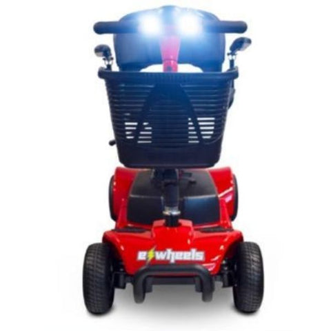 EWheels Medical EW-M34 Mobility Scooter Red Headlights View
