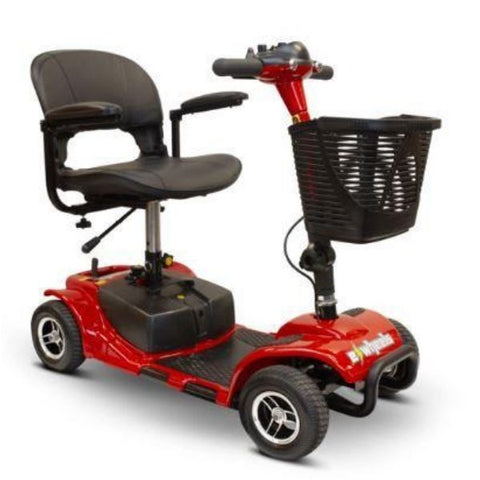 EWheels Medical EW-M34 Mobility Scooter Red Right View