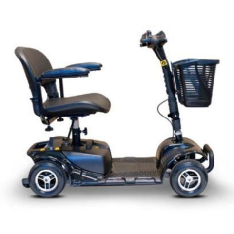 EWheels Medical EW-M34 Mobility Scooter Black Side View