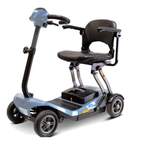 EWheels Remo Auto-Flex Scooter Blue Left View