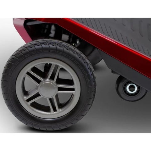 EWheels Remo Auto-Flex Scooter Front Wheel View