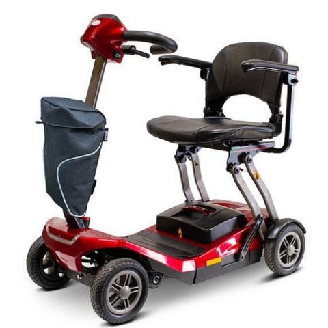 EWheels Remo Auto-Flex  Scooter Red Left View