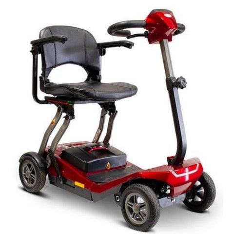 EWheels Remo Auto-Flex Scooter Red Right View