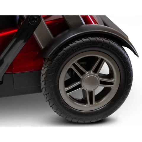 EWheels Remo Auto-Flex Scooter Rear Wheel View