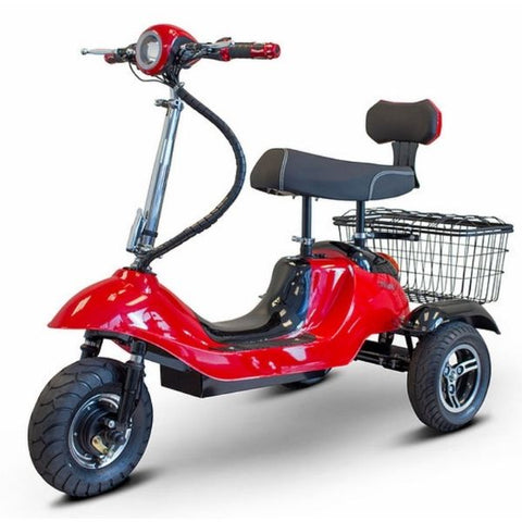 EWheels EW-19 3 Wheel Scooter Right Side View