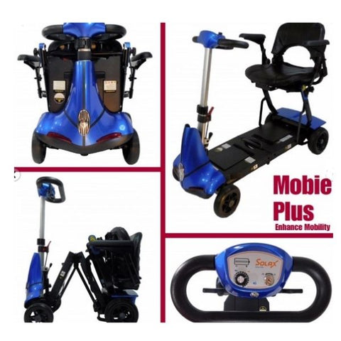 Enhance Mobility Mobie Plus 4 Wheel Scooter S2043 Image View
