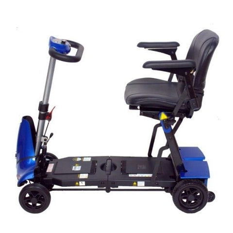 Enhance Mobility Mobie Plus 4 Wheel Scooter S2043 Side View
