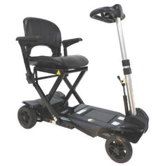 Enhance Mobility Transformer 4-Wheel Scooter S3021 Black Front View