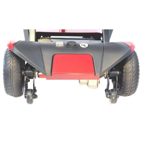 Enhance Mobility Transformer 4-Wheel Scooter S3021 Rear Wheel View