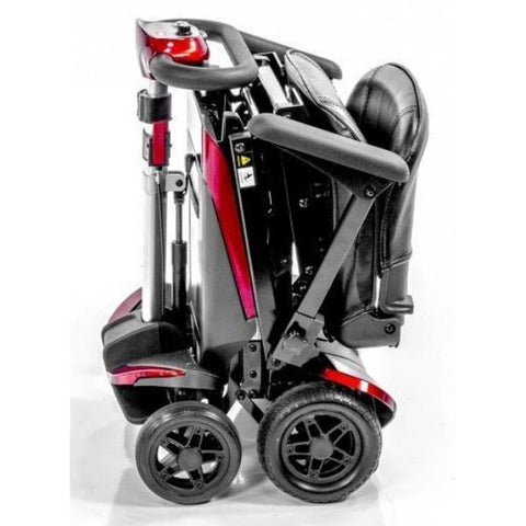 Enhance Mobility Transformer 4-Wheel Scooter S3021 Red Folding Ready to Travel View