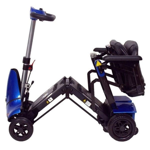 Enhance Mobility Mobie Plus Blue S2043 Folding View