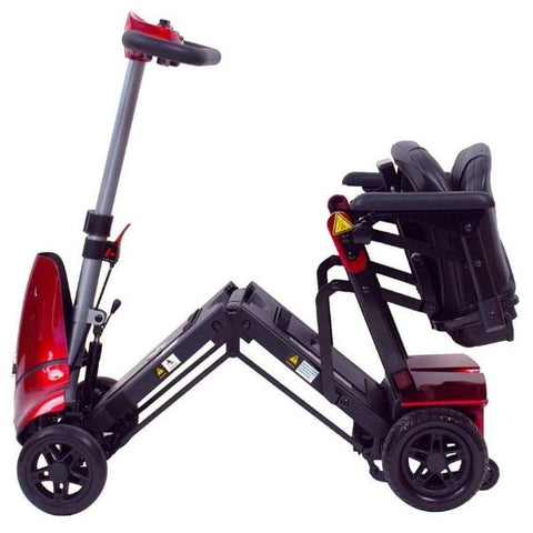 Enhance Mobility Mobie Plus Red S2043 Folding View