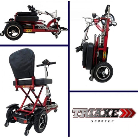 Enhance Mobility Triaxe Cruze Folding Mobility Scooter