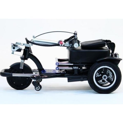 Enhance Mobility Triaxe Sport T3045 3 Wheel Scooter Folding View