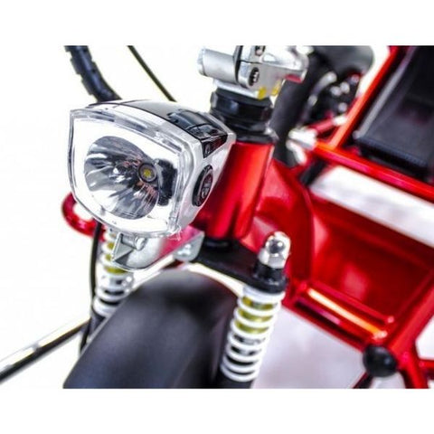 Enhance Mobility Triaxe Sport T3045 3 Wheel Scooter Headlights View