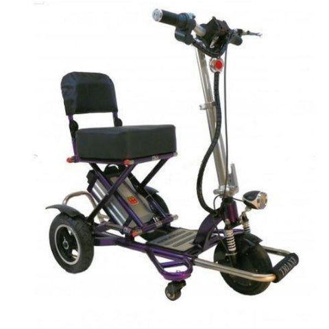 Enhance Mobility Triaxe Sport T3045 3 Wheel Scooter Purple Right View