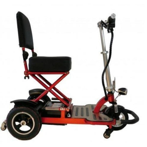 Enhance Mobility Triaxe Tour 3 Wheel Scooter T3050 Red Right Side View