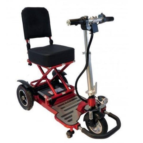 Enhance Mobility Triaxe Tour 3 Wheel Scooter T3050 Red Right View