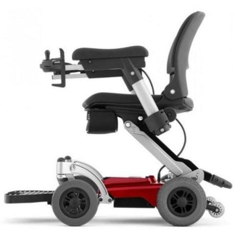 FreeRider Luggie Chair Foldable Power Chair Side View