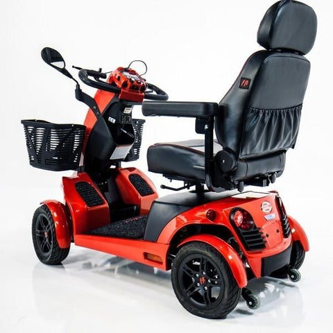 FreeRider USA FR1 4 Wheel Bariatric Mobility Scooter Back View