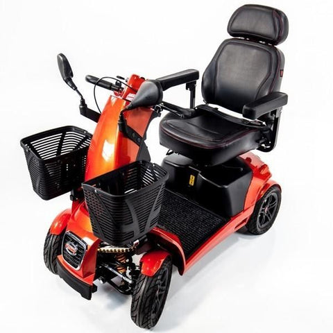 FreeRider USA FR1 4 Wheel Bariatric Mobility Scooter Front Side View