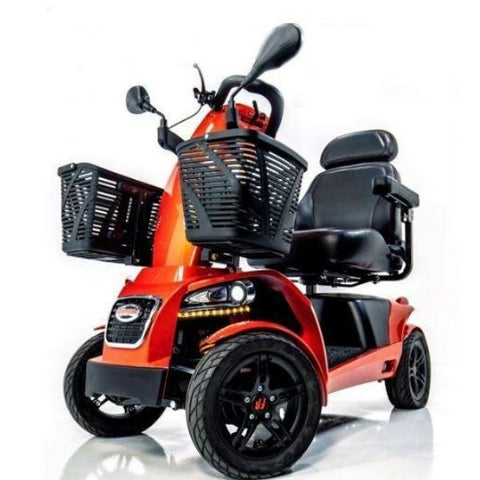 FreeRider USA FR1 4 Wheel Bariatric Mobility Scooter Front View