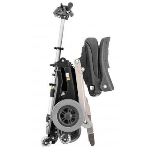 FreeRider USA Luggie Classic 4 Wheel Foldable Travel Scooter Folding View