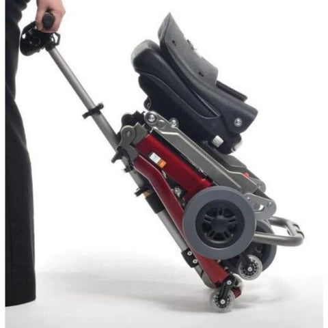 FreeRider USA Luggie Deluxe 4 Wheel Folding Travel Scooter Easy Hand Carry View