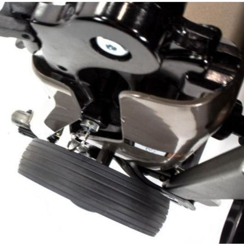 Freerider USA Luggie Super Folding Mobility Scooter Motor and Wheel View
