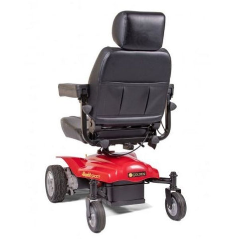 Golden Technologies Alante Sport Power Wheelchair Back View