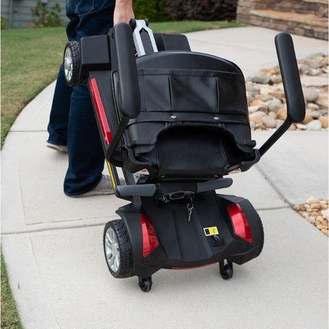 Golden Technologies Buzzaround Carry On Folding Mobility Scooter Hand Carry View
