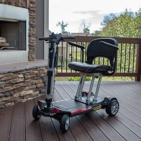 Golden Technologies Buzzaround Carry On Folding Mobility Scooter Left View