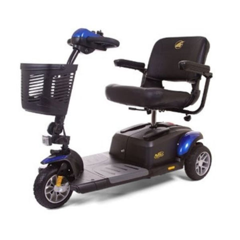 Golden Technologies Buzzaround Extreme 3-Wheel Mobility Scooter GB118D Blue Front View