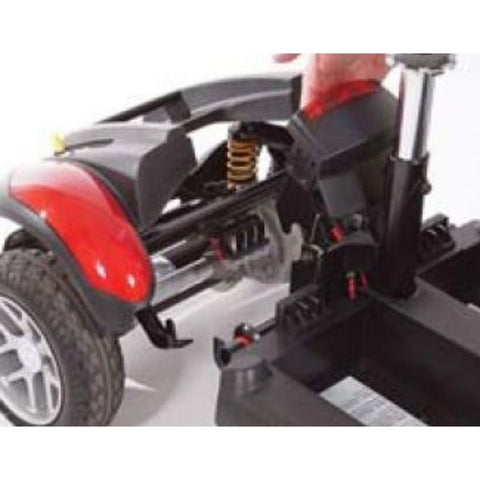 Golden Technologies Buzzaround Extreme 4-Wheel Mobility Scooter GB148D Disassemble Drivetrain View